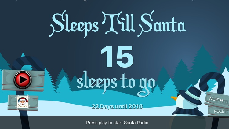 Sleeps untill Christmas