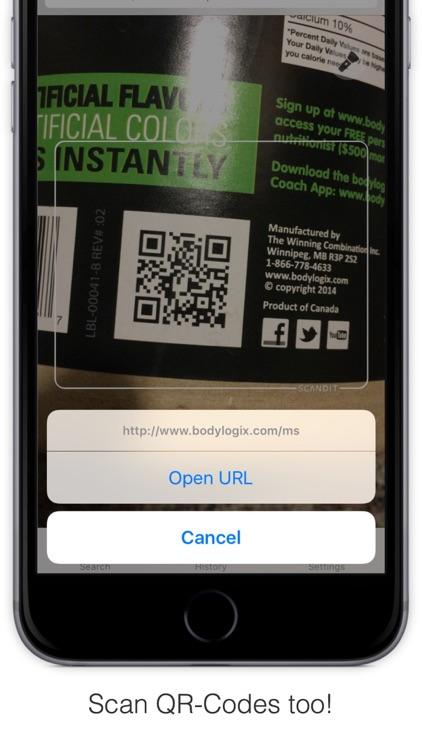 Bakodo - Barcode Scanner and QR Bar Code Reader screenshot-4