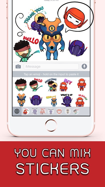 Big Robot Art Stickers & Emoji Keyboard