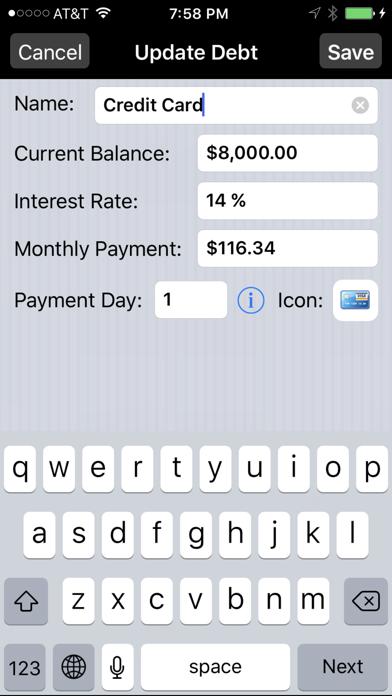 Debt Payoff Pro screenshot three