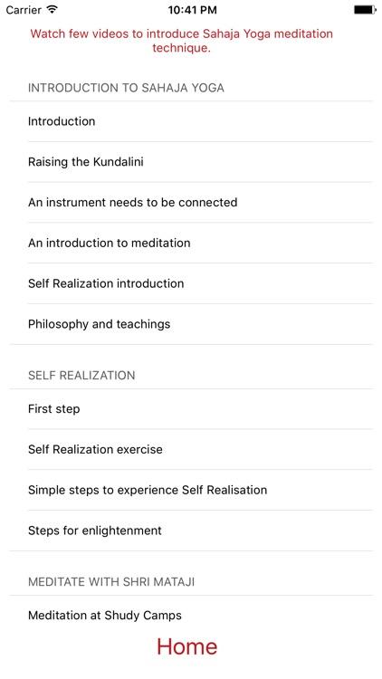 Yogi - a Sahaja Yoga meditation companion screenshot-3