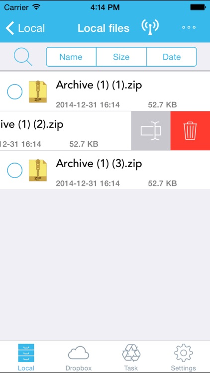 iToolZip - Zip Unzip Unrar Tool & Files Manager