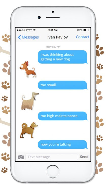 Funny Cartoon Dog Sticker Pack