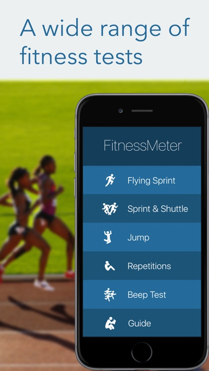 FitnessMeter - Test & Measure screenshot-0