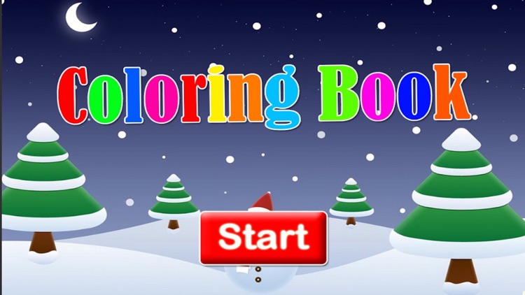 Christmas wishes photo coloring book for kids screenshot-3