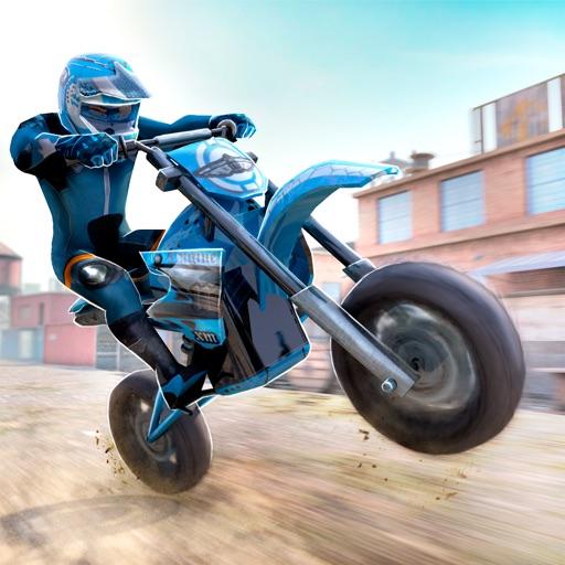 Motocross Trial Racing 3D application logo