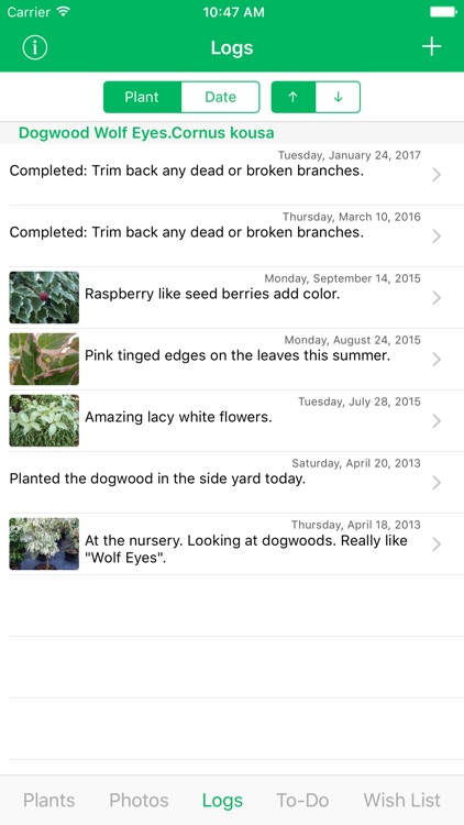 MyPlant Notebook - A Journal Just For Your Plants screenshot-3