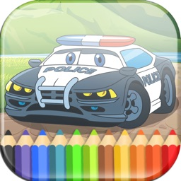 Cars Coloring Book for Kids & Toddlers