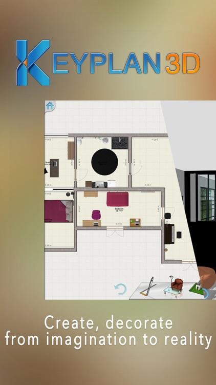 Keyplan 3D -Home design, decoration & Architecture screenshot-0