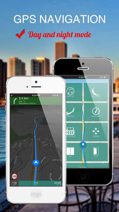 Turkey : Offline GPS Navigation screenshot two