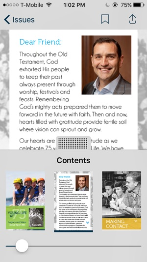 Young Life Relationships Magazine on the App Store