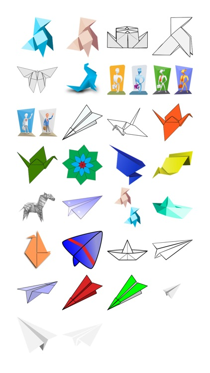 Origami Sticker Pack
