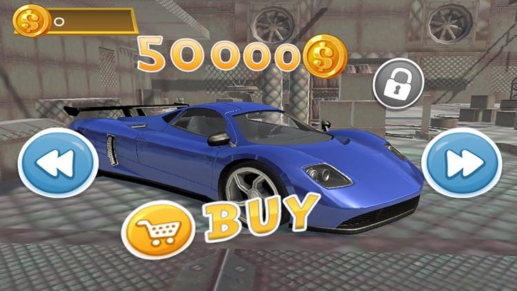 Hill Racing Stunts : 3D Car Hero