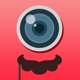 Mustache Mario - Sticker Photo with Filters
