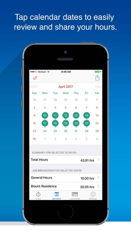 OnSite Time-Tracker screenshot-3