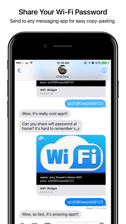 WiFi Widget - Easy Manage Password