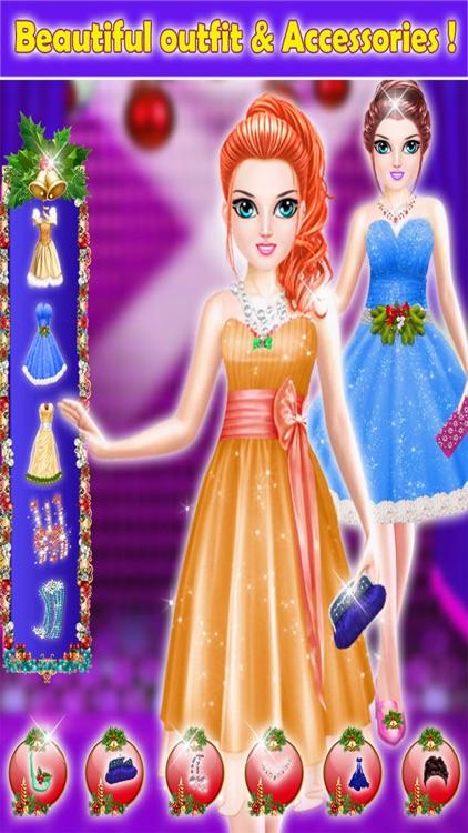 Christmas Girls Party Makeup - Trendy Make Up Me screenshot-3