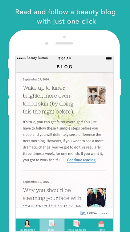 Beauty Button – Your personal skin advisor screenshot-4