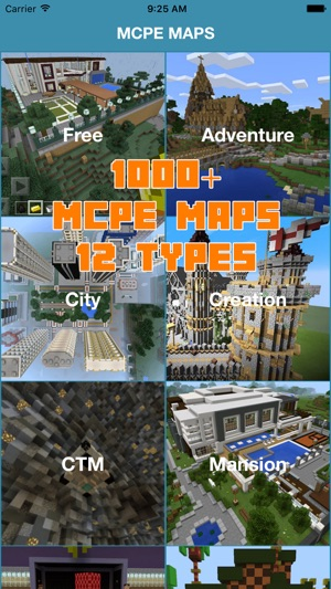 1000+ MCPE MAPS FOR MINECRAFT POCKET EDITION GAME on the App Store