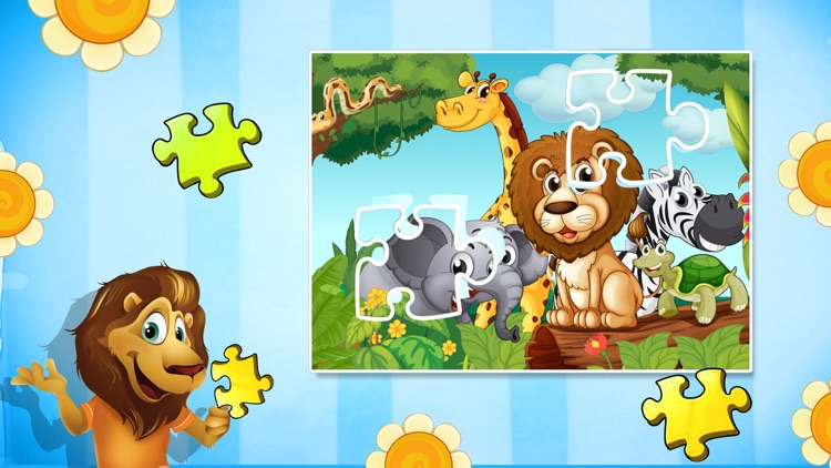 Wild Animal Puzzles For Kids