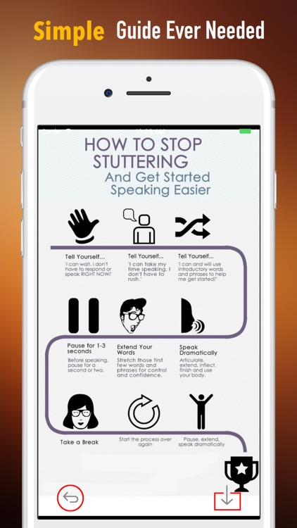 How to Treat Stuttering-Beginners Tips and Guide screenshot-1