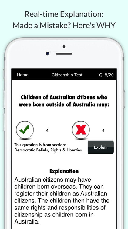 Australian Citizenship Test 2017 Practice Question