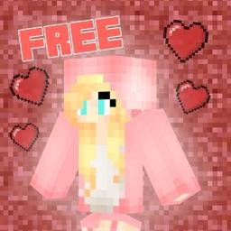 Girl Skins PE Free for Minecraft PE (Pocket Edition Skins)