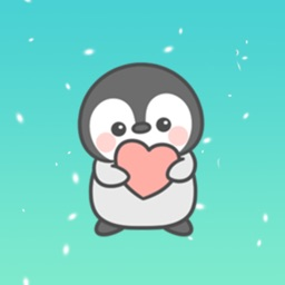 Lovely Penguin Animated Sticker