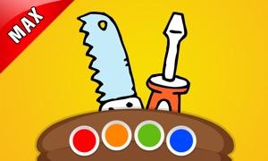 Coloring Your DIY MAX