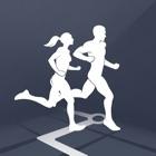 地図距離トラッカー - を実行している GPS を実行キーパー無料 Running Tracker icon