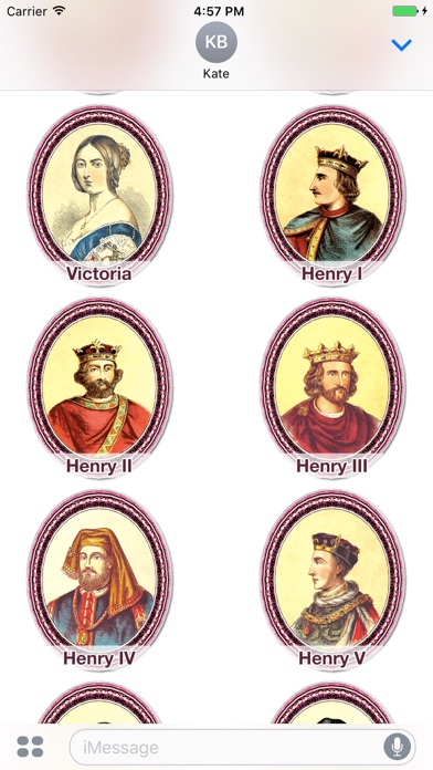 famous kings and queens - 392×696