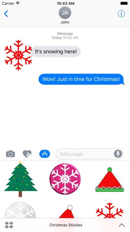 Christmas Stickies screenshot-3