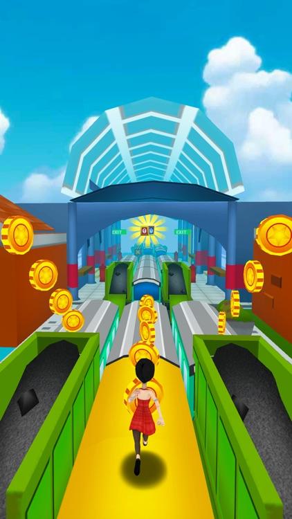 Subway Runner 3D Surf Rush screenshot-4