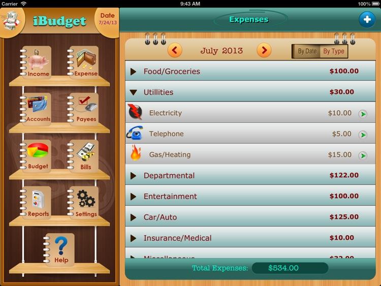 iXpense Tracker for iPad screenshot-4