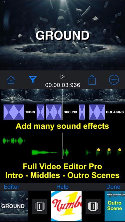 IntroMovies - Intro maker designer for iMovie screenshot-4