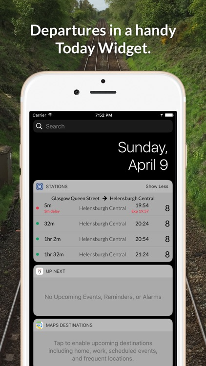 Stations - National Rail Live UK Train Times by Ross Oliver