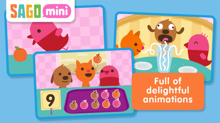 Sago Mini Pet Cafe screenshot-4