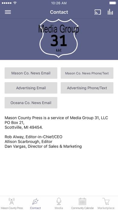 Mason County Press screenshot 2