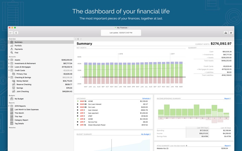Banktivity 6: Personal Finance Screenshots