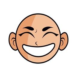 Lama Emoji - Buddhist Monk Stickers