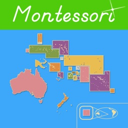 Oceania - Montessori Geography for Preschool & Up