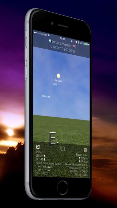 Screenshot #1 pour Soleil et Lune 3D Planétarium