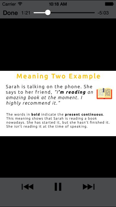 English Language screenshot 2