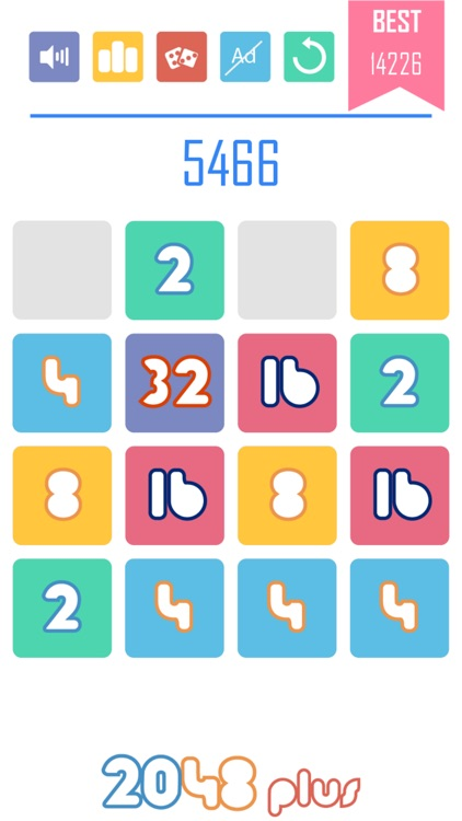 2048 Plus 1010 Style: Power of Two!