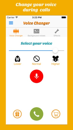 Call Voice changer Allogag on the App Store