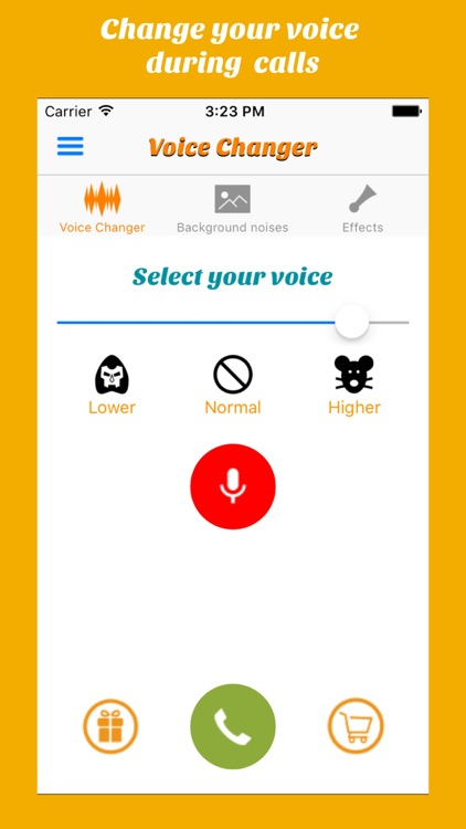 Call Voice changer Allogag