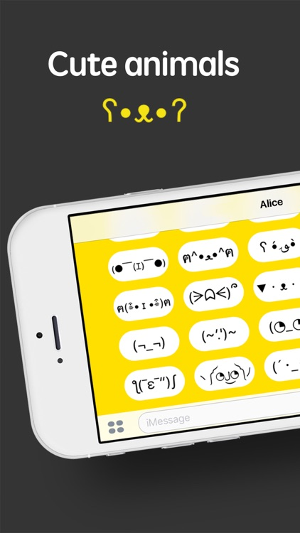 iShrug: Text Faces for iMessage screenshot-3