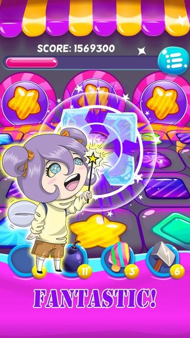 Jelly gems matching games screenshot one