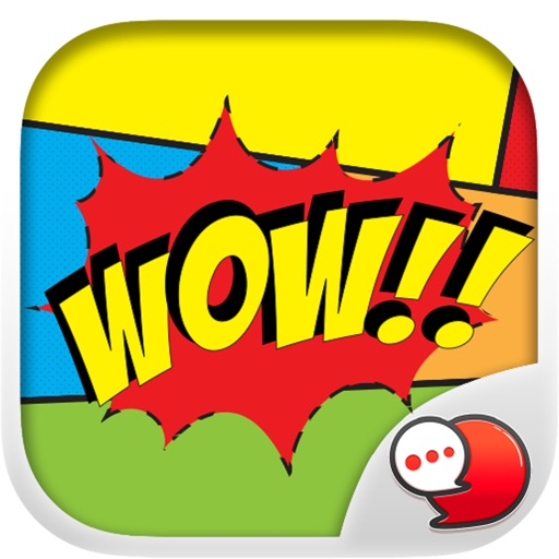 Comic Message Sticker Collection for iMessage