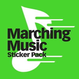 Marching Music Stickers